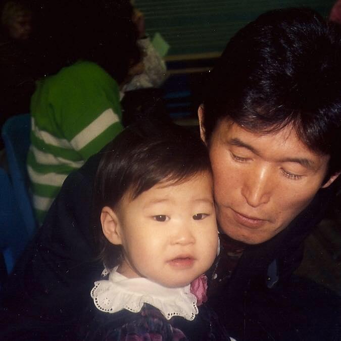 Minna + Dad