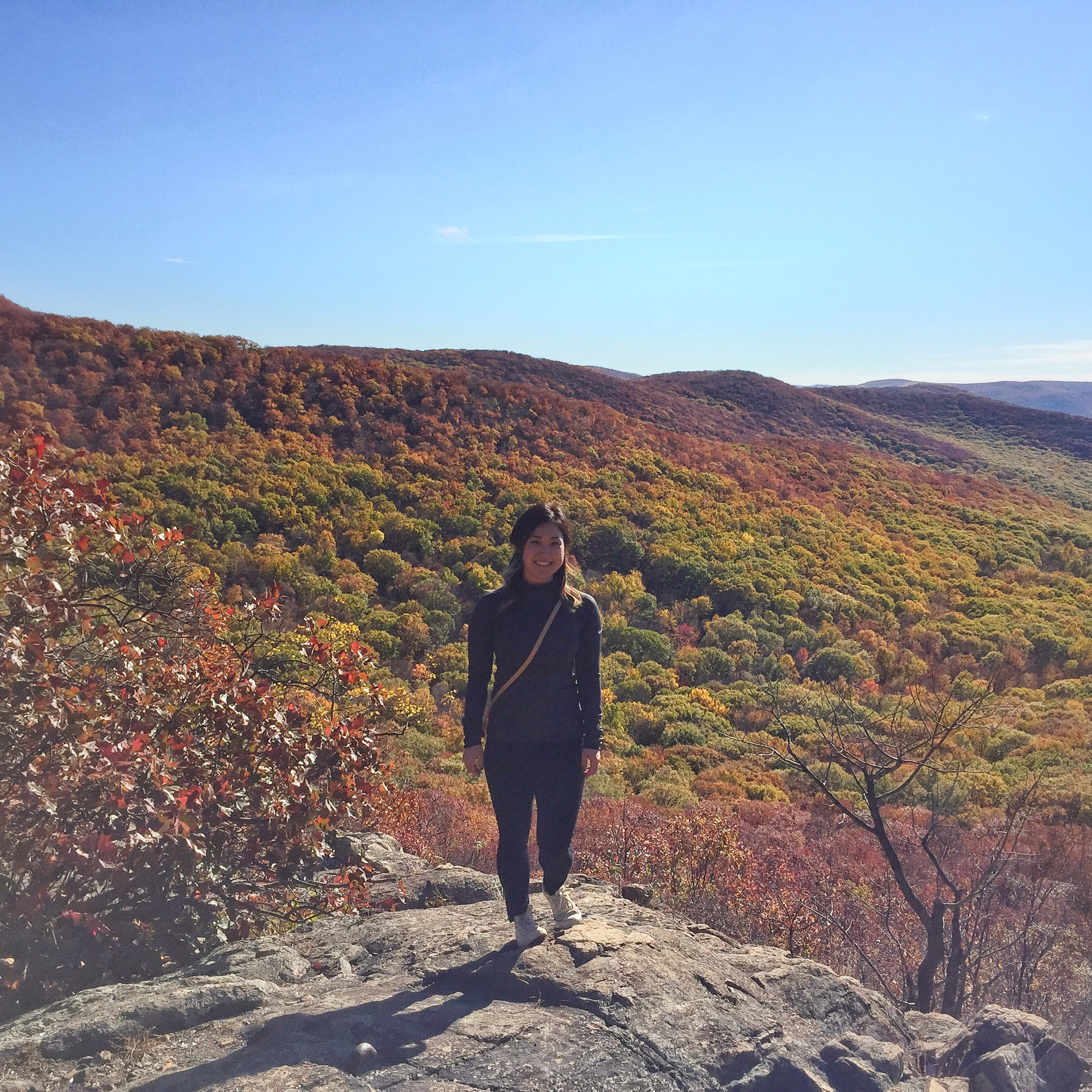 Summiting Mt. Beacon on a solo hike