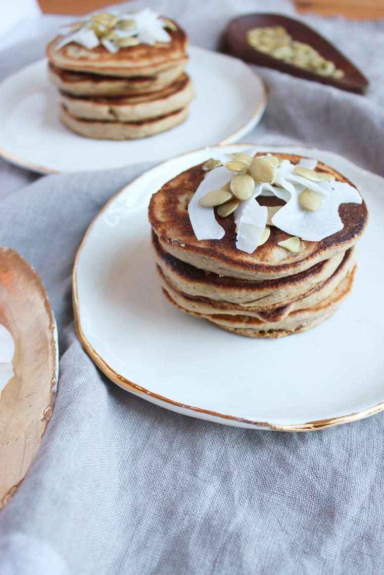 Gingerbread Pancakes, Gluten-Free + Vegan | Living Minnaly4.jpg