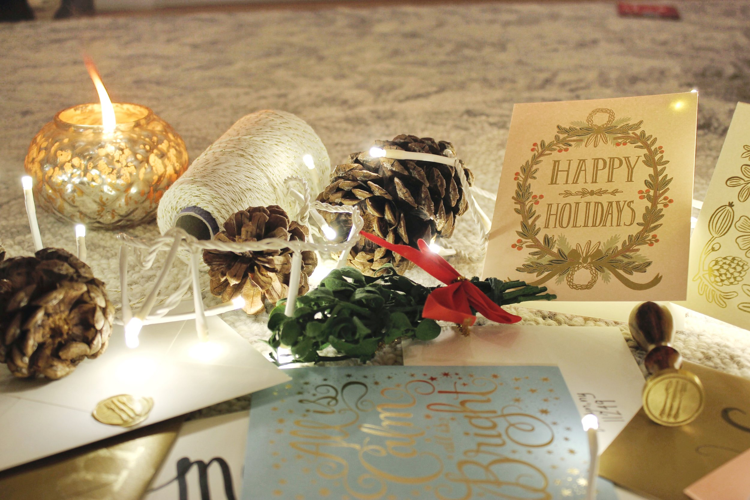 Cardwriting Tips for the Holidays | Living Minnaly