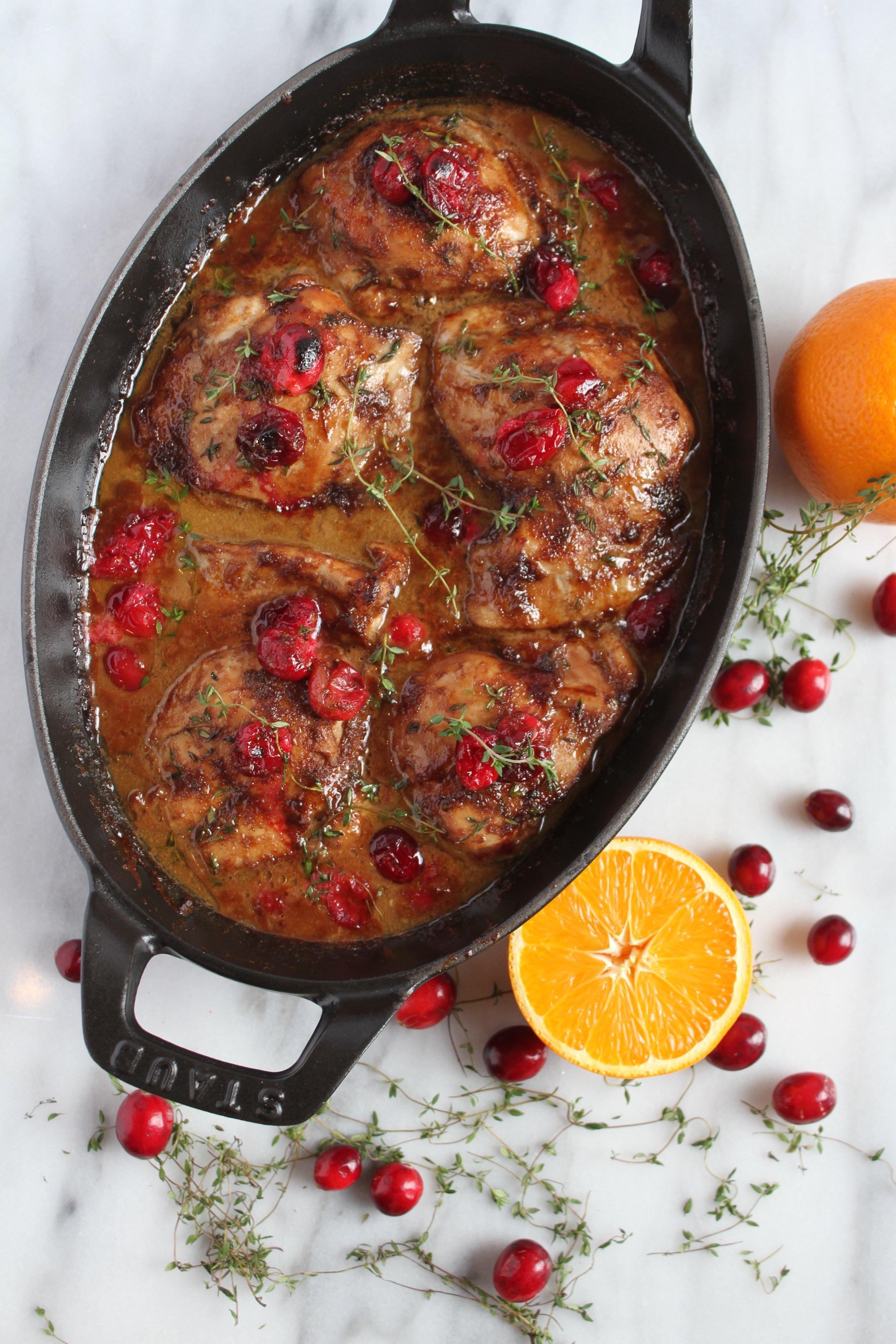 Roasted Cranberry Orange Maple Chicken w:Vitamix x Living Minnaly _8.jpg