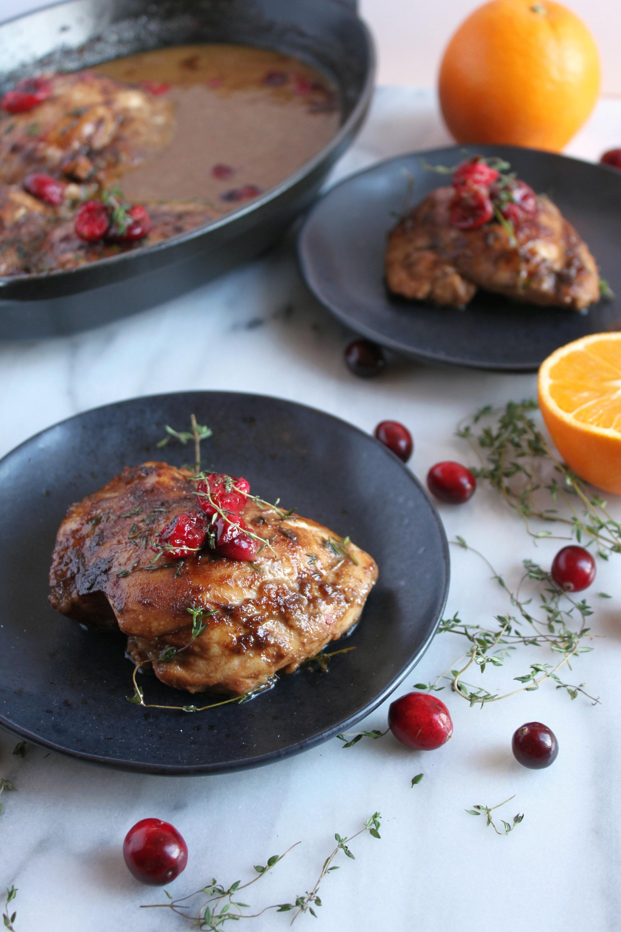 Roasted Cranberry Orange Maple Chicken w:Vitamix x Living Minnaly _22.jpg