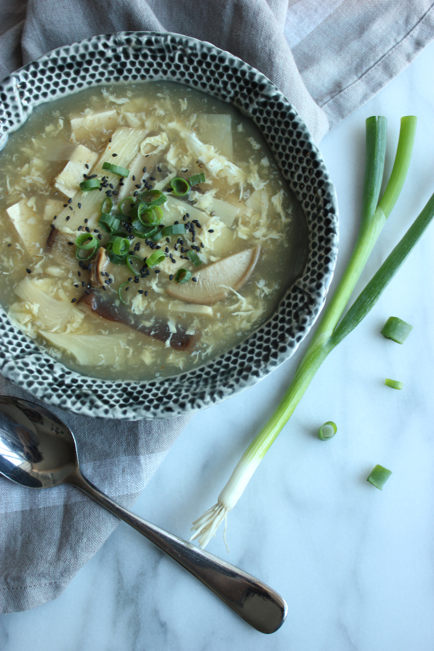 Healthy Hot and Sour Soup