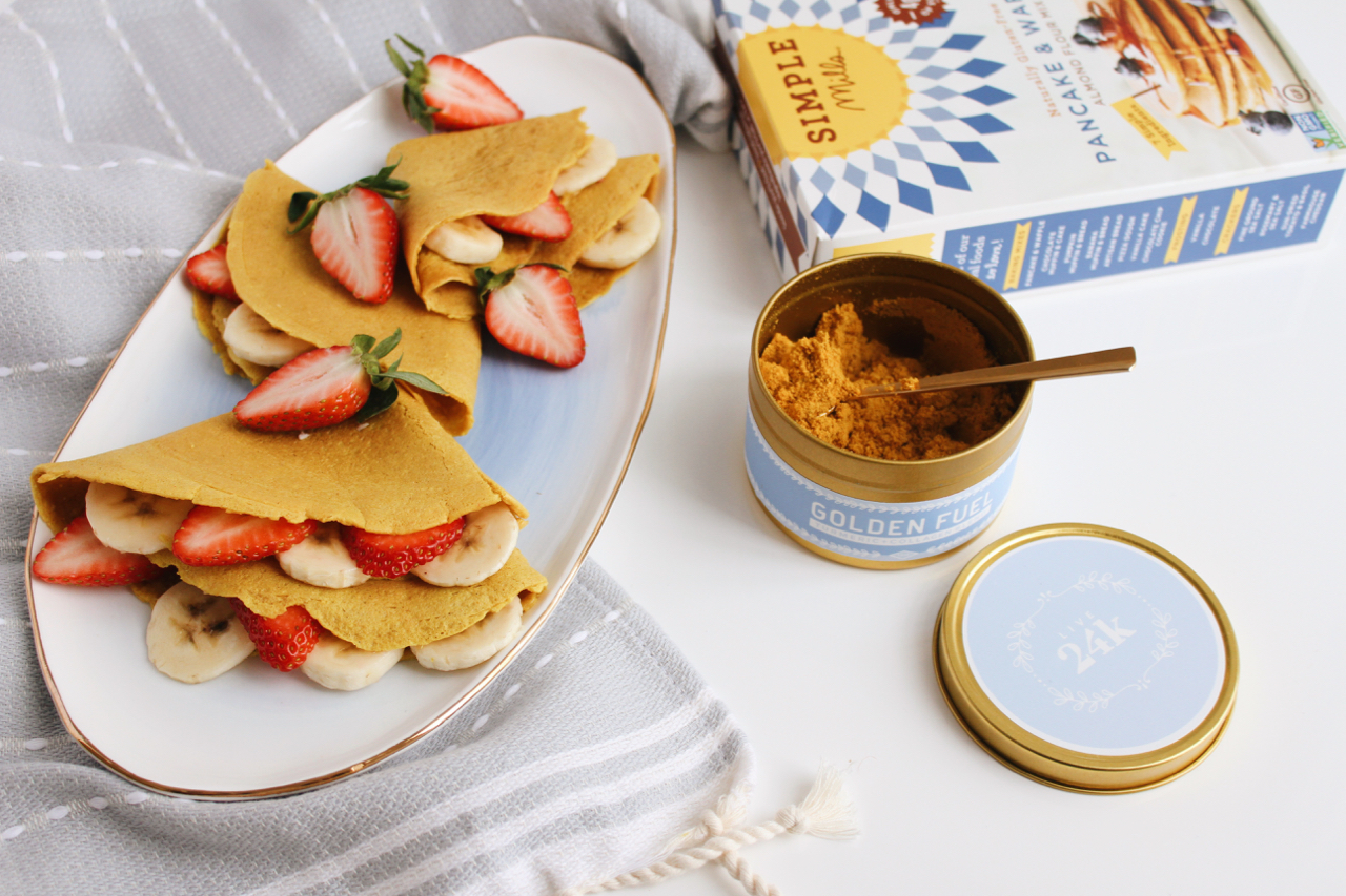 Golden Fuel Turmeric Collagen Crepes with Simple Mills + Live 24k | Living Minnaly  - 1.jpg