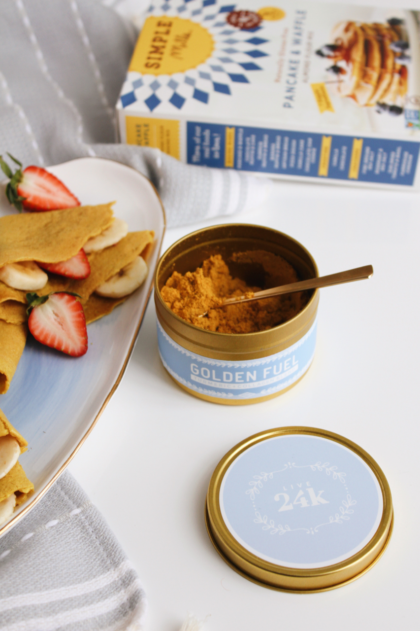 Golden Fuel Turmeric Collagen Crepes with Simple Mills + Live 24k | Living Minnaly  - 2.jpg