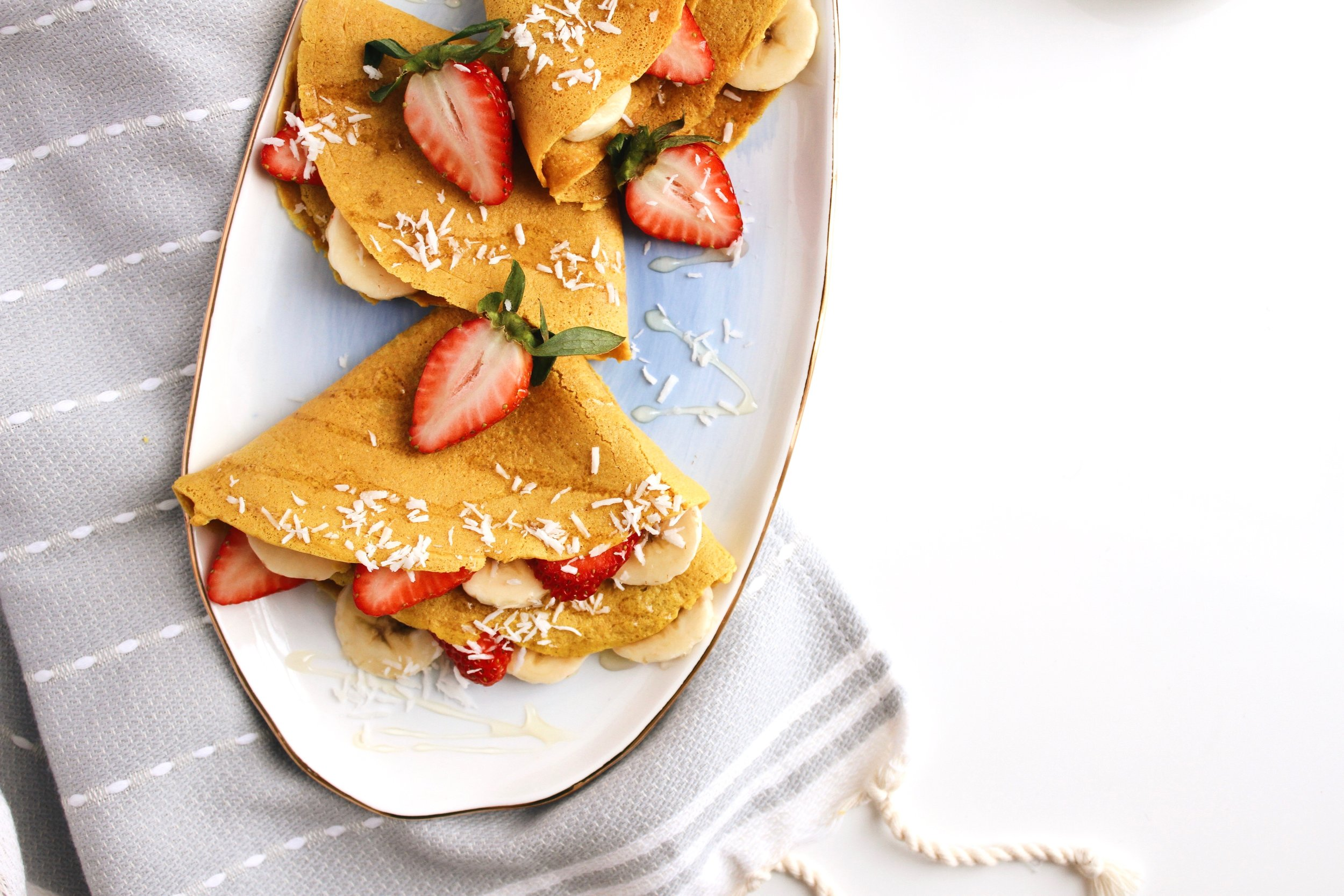Golden Fuel Turmeric Collagen Crepes with Simple Mills + Live 24k | Living Minnaly  - 9.jpg