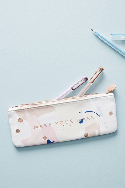 Make Your Mark Pencil Pouch