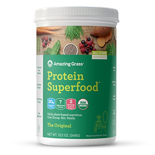Plant-Based Protein + Greens Powder