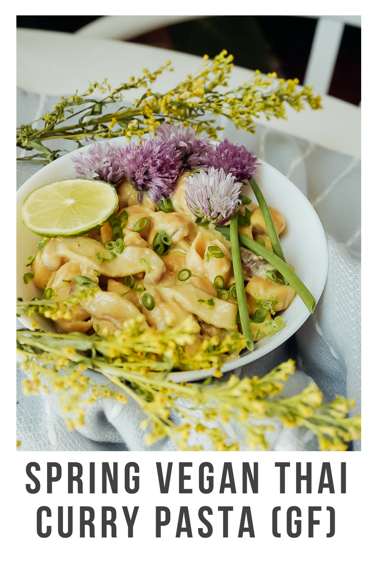 Spring Vegan Curry Pasta with Mushrooms and Chives _ Living Minnaly1.png