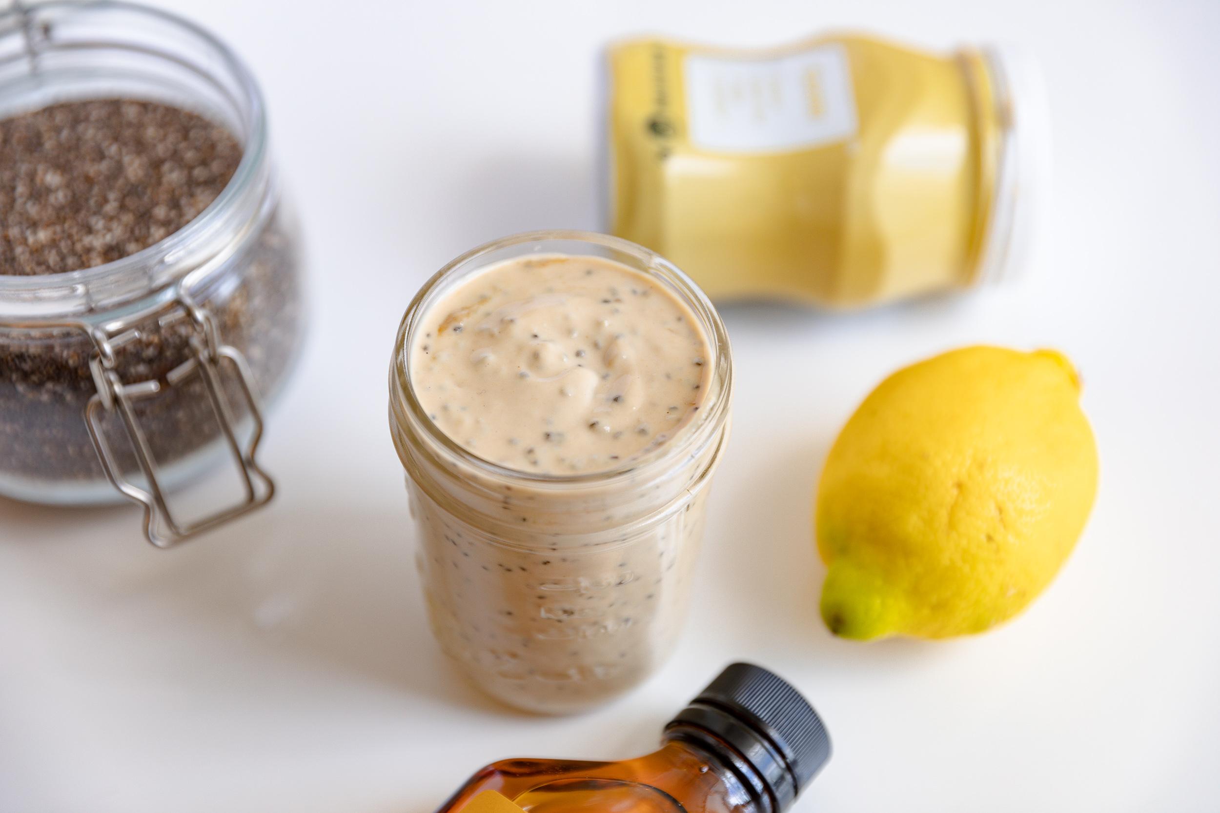 Food Prep Tips + Lemon Tahini Chia Dressing Recipe | Living Minnaly__6.jpg