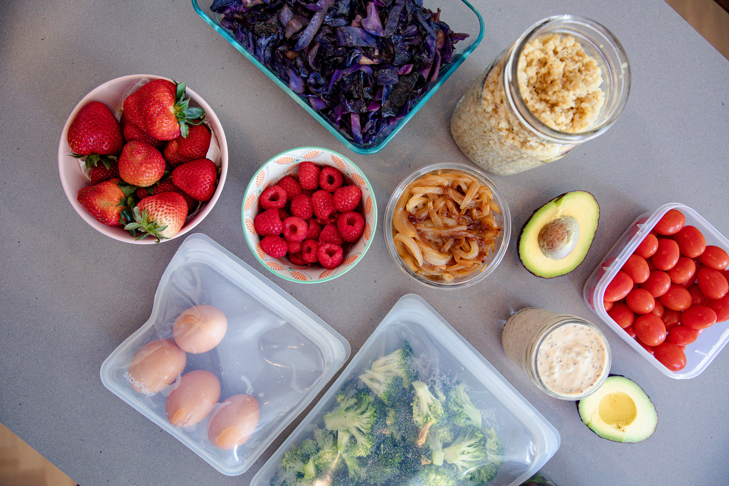 Food Prep Tips + Lemon Tahini Chia Dressing Recipe | Living Minnaly__9.jpg
