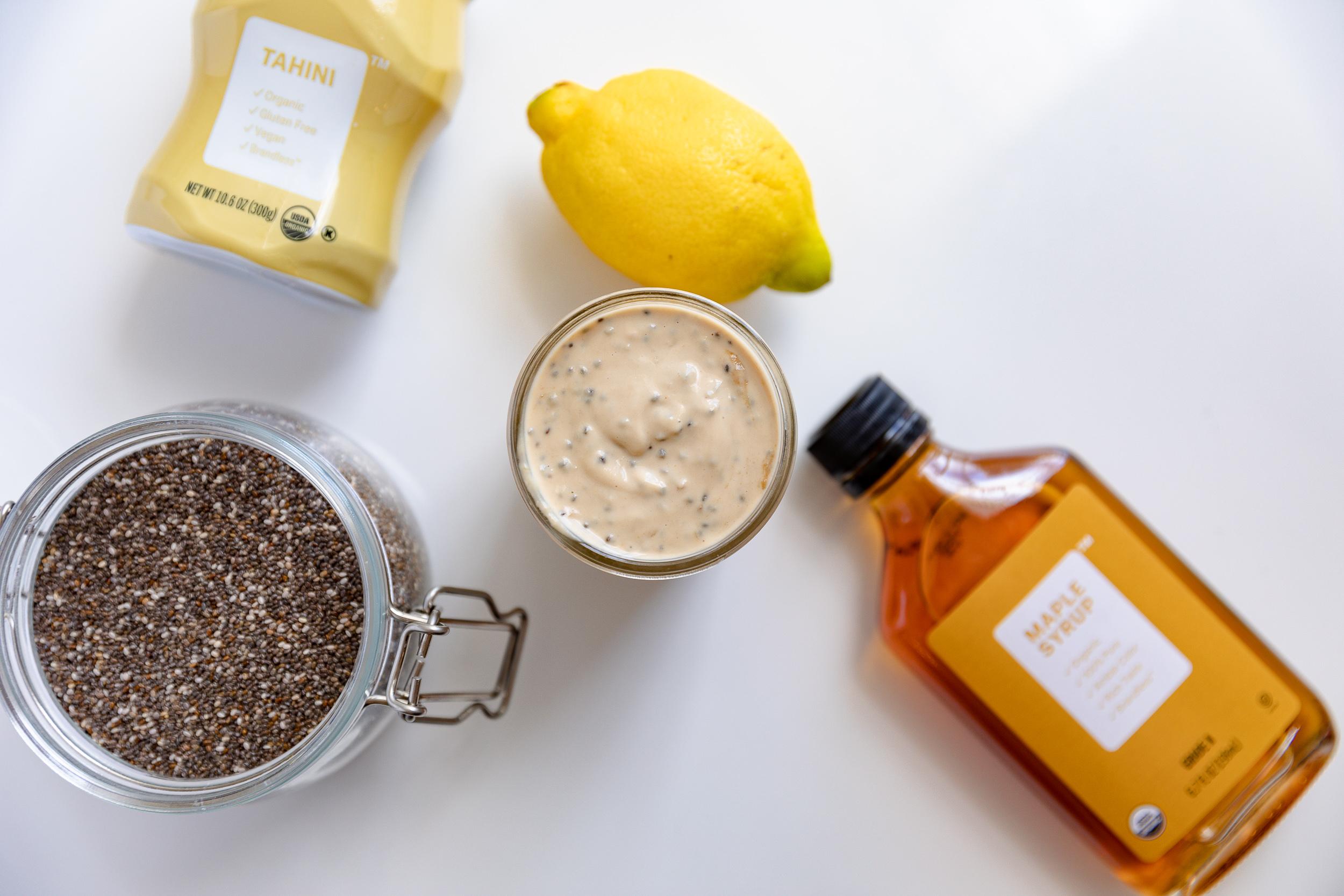 Food Prep Tips + Lemon Tahini Chia Dressing Recipe | Living Minnaly__5.jpg