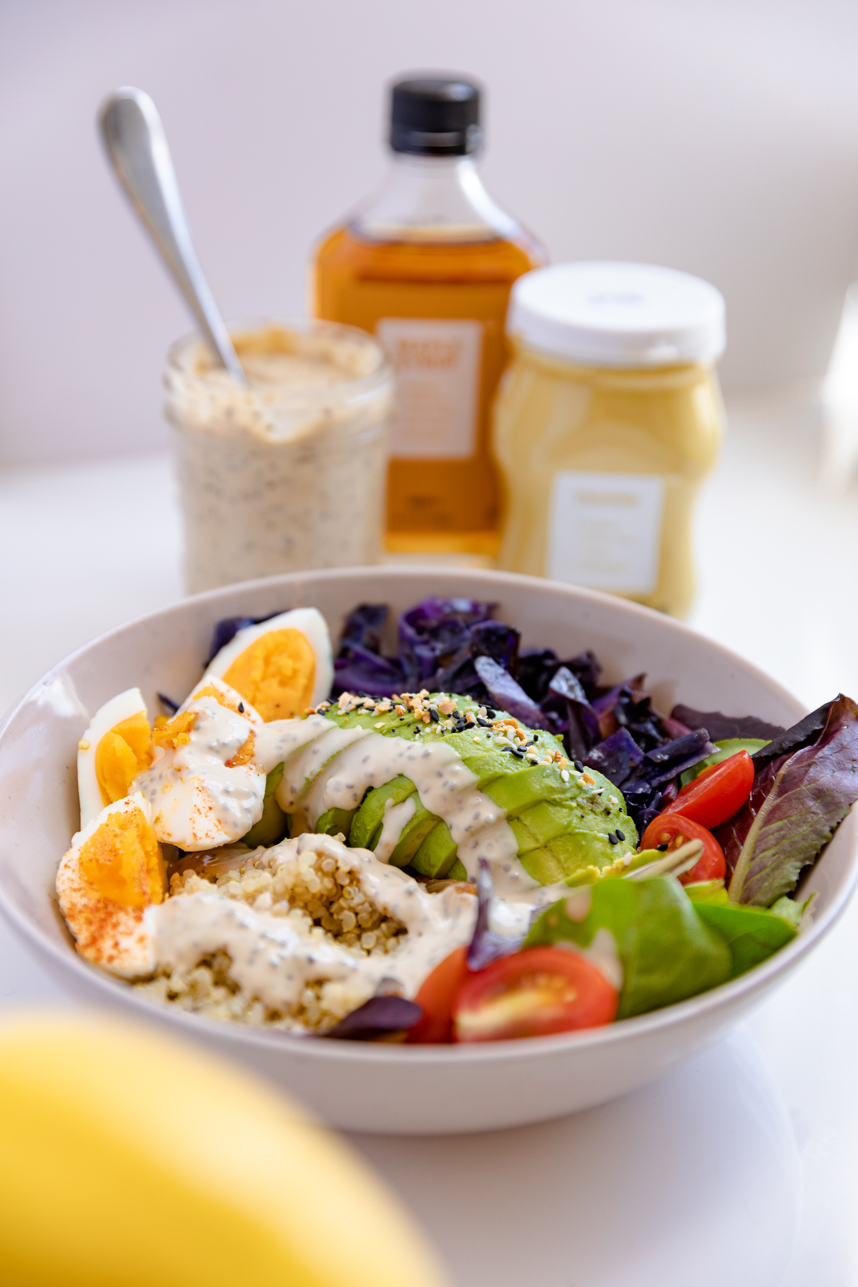 Food Prep Tips + Lemon Tahini Chia Dressing Recipe | Living Minnaly__18.jpg
