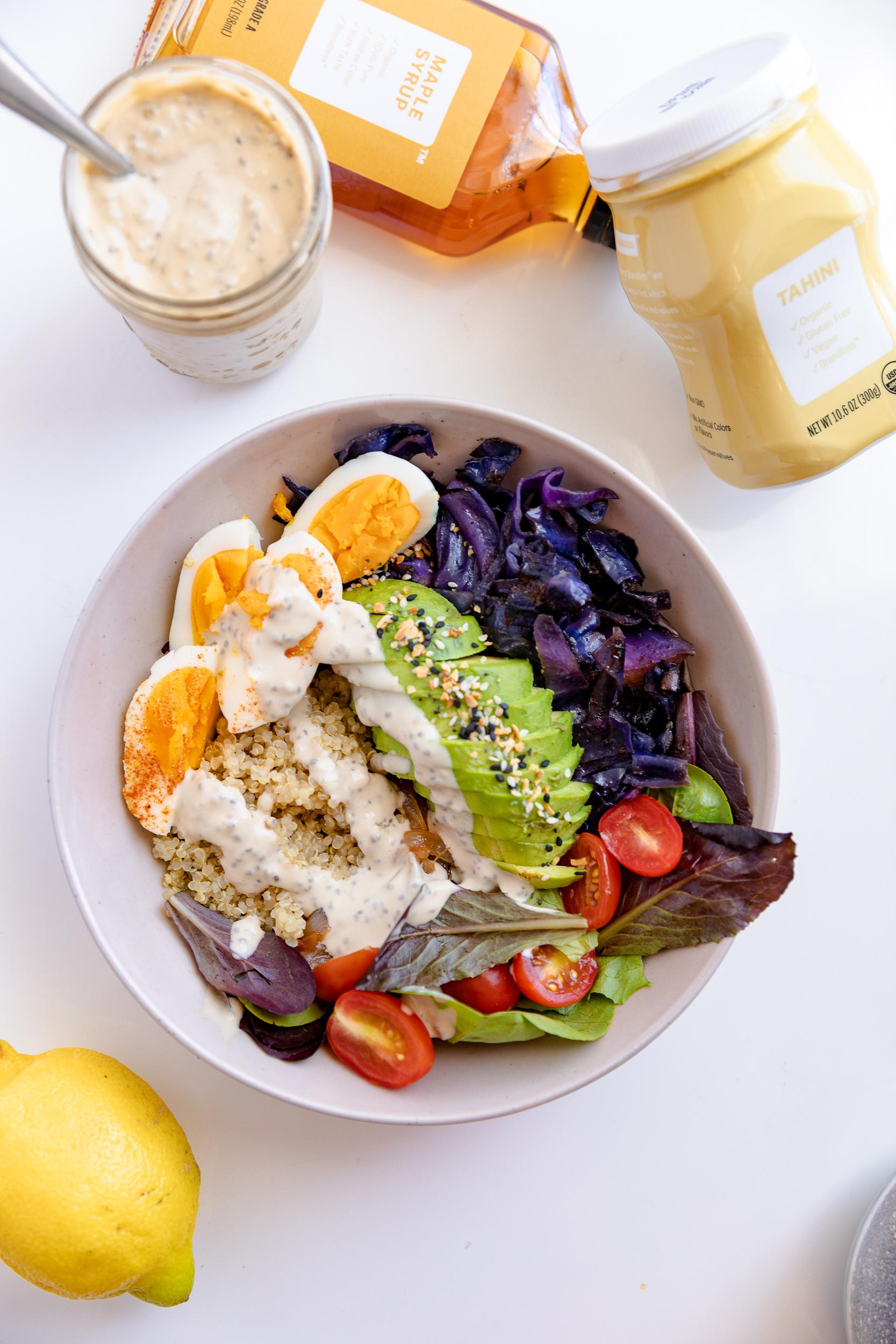 Food Prep Tips + Lemon Tahini Chia Dressing Recipe | Living Minnaly__19.jpg