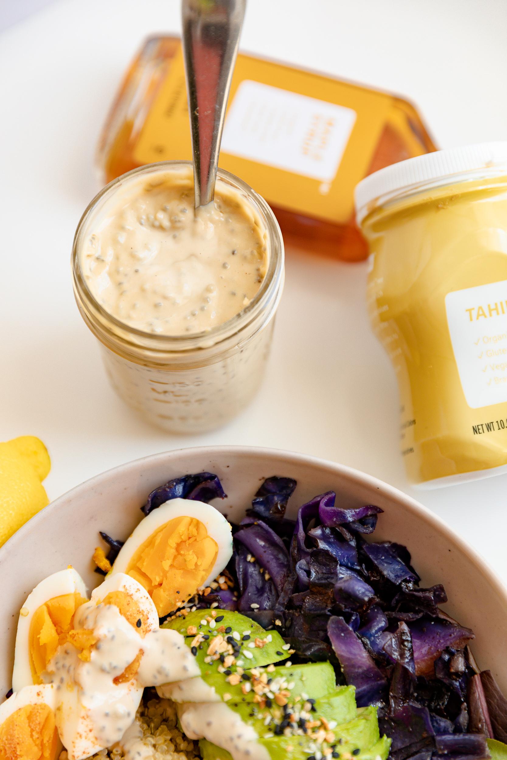 Food Prep Tips + Lemon Tahini Chia Dressing Recipe | Living Minnaly__26.jpg