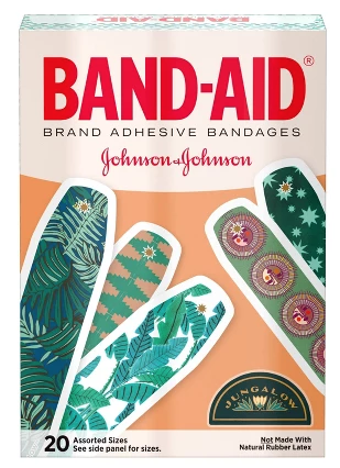 JUNGALOW X BAND-AID BRAND ADHESIVE BANDAGES