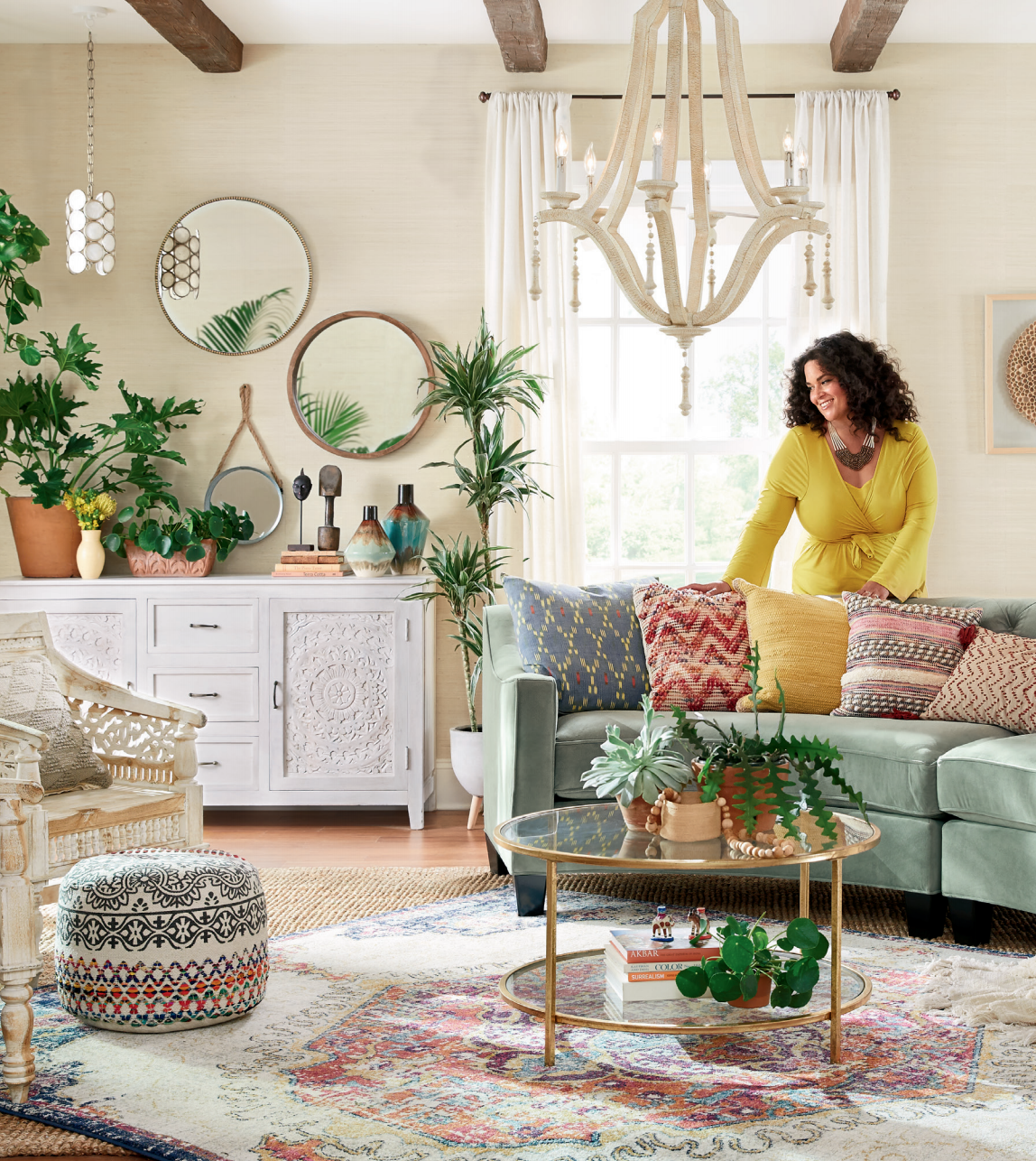 JUSTINA BLAKENEY x HOME DEPOT HOME DECORATORS COLLECTION