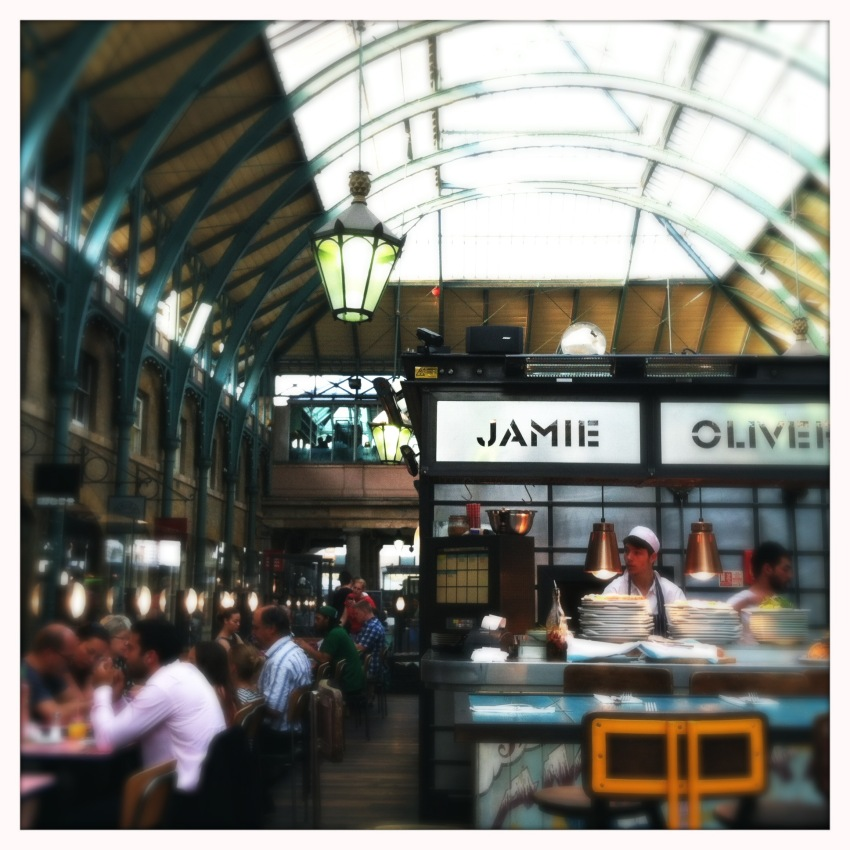 New restaurant in Covent Garden.