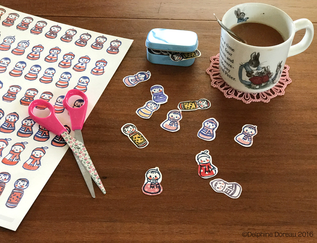Make Your Own Stickers Plus Printable