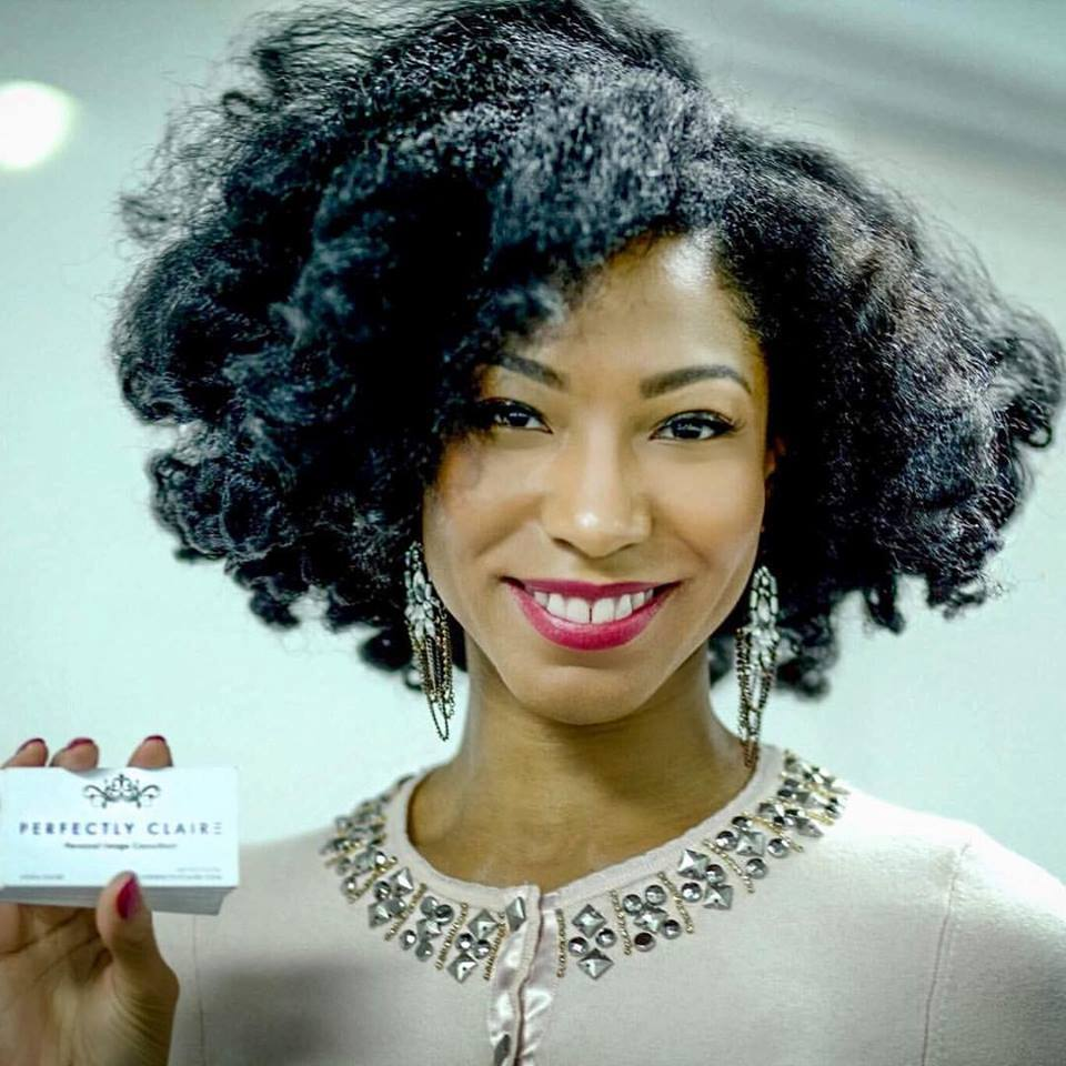 Aisha Claire, Founder of Perfectly Claire Personal Image Consulting.