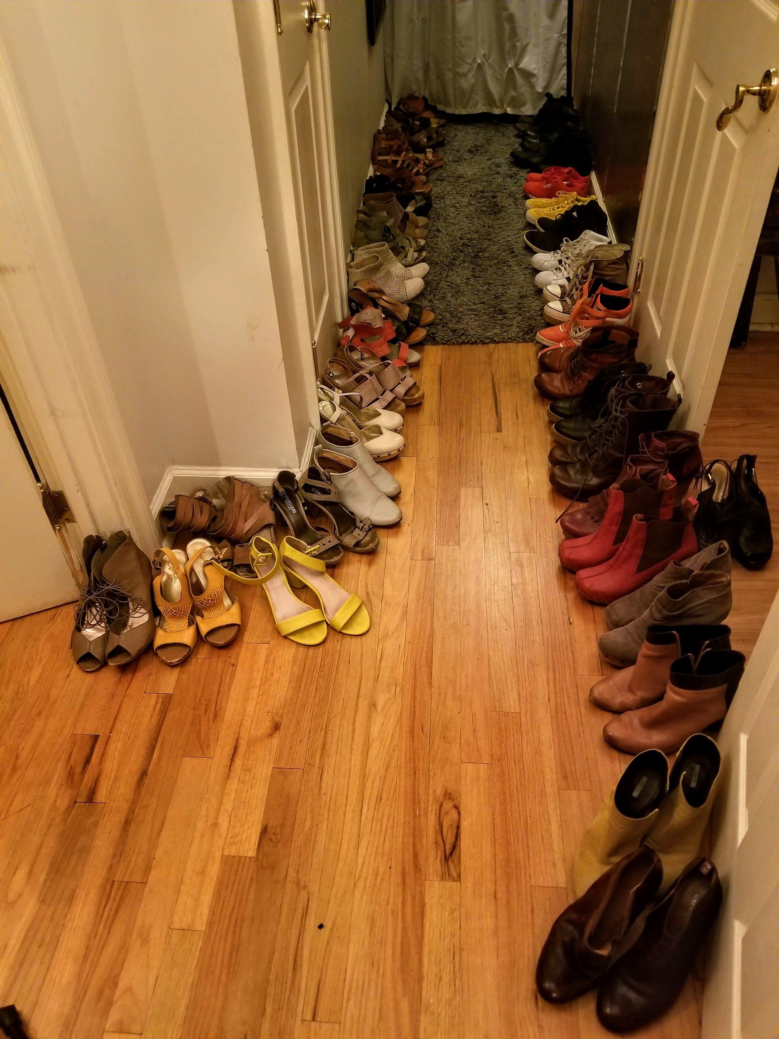 Shoe Purge Process