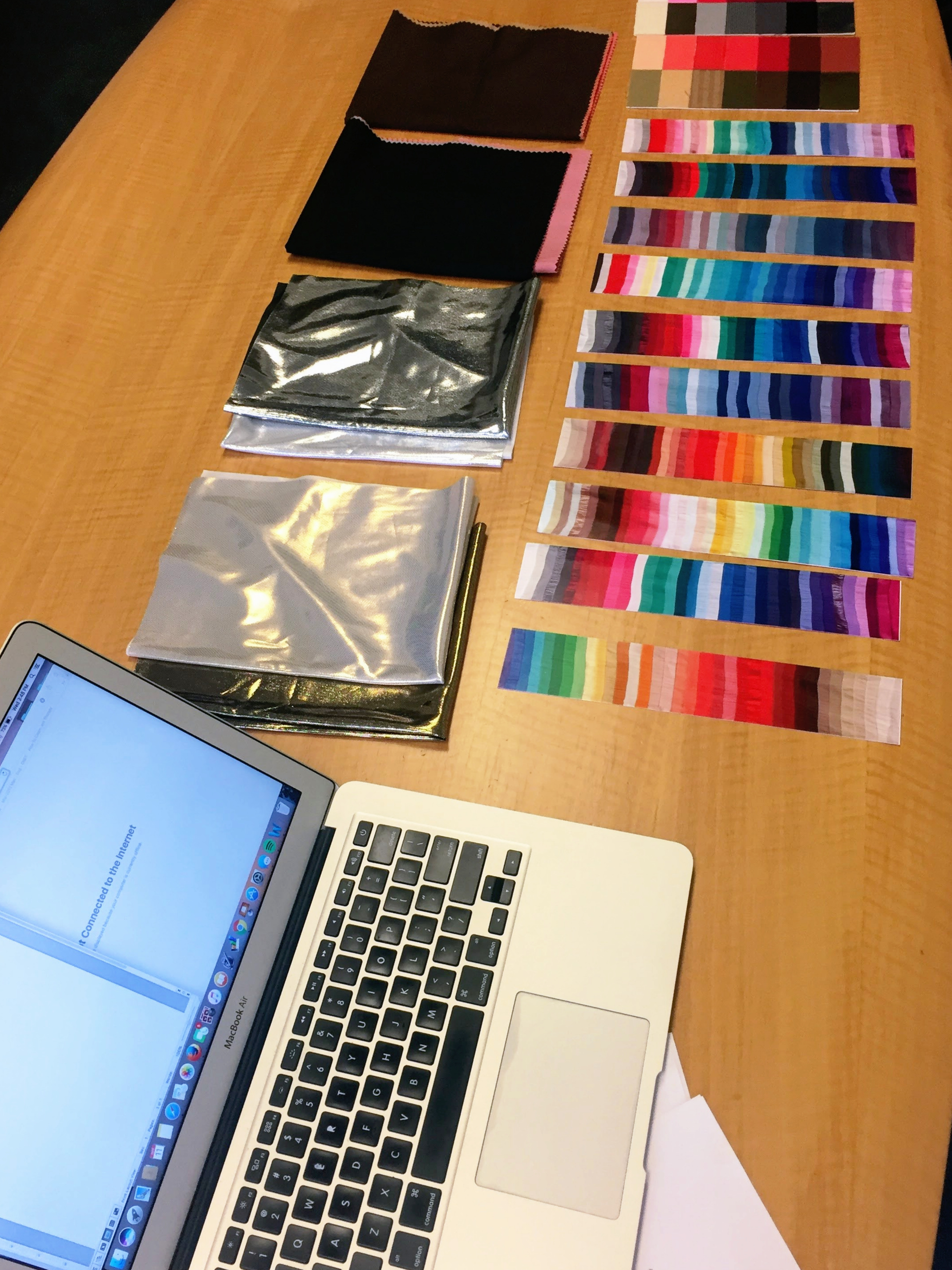 Color analysis tools.