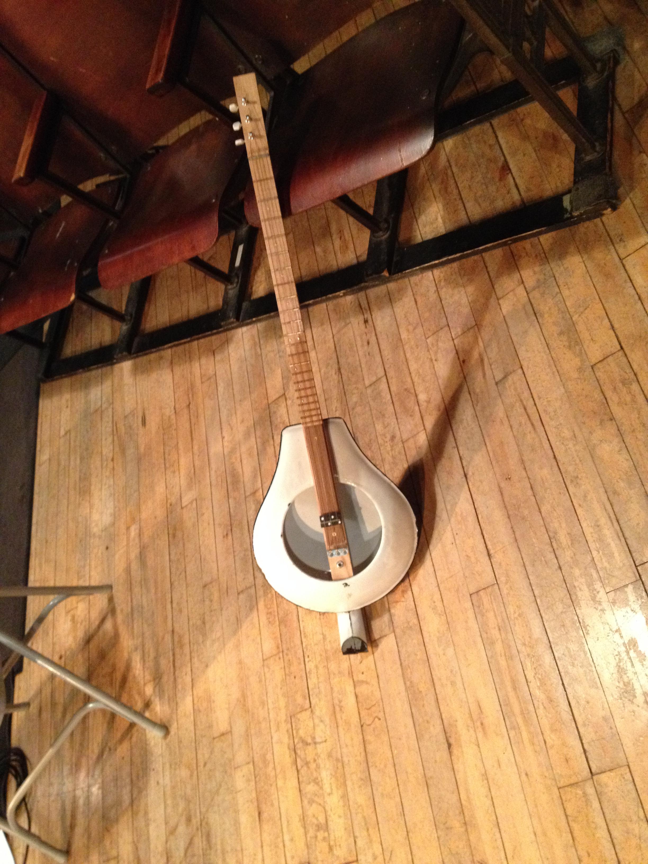 Bed Pan Guitar