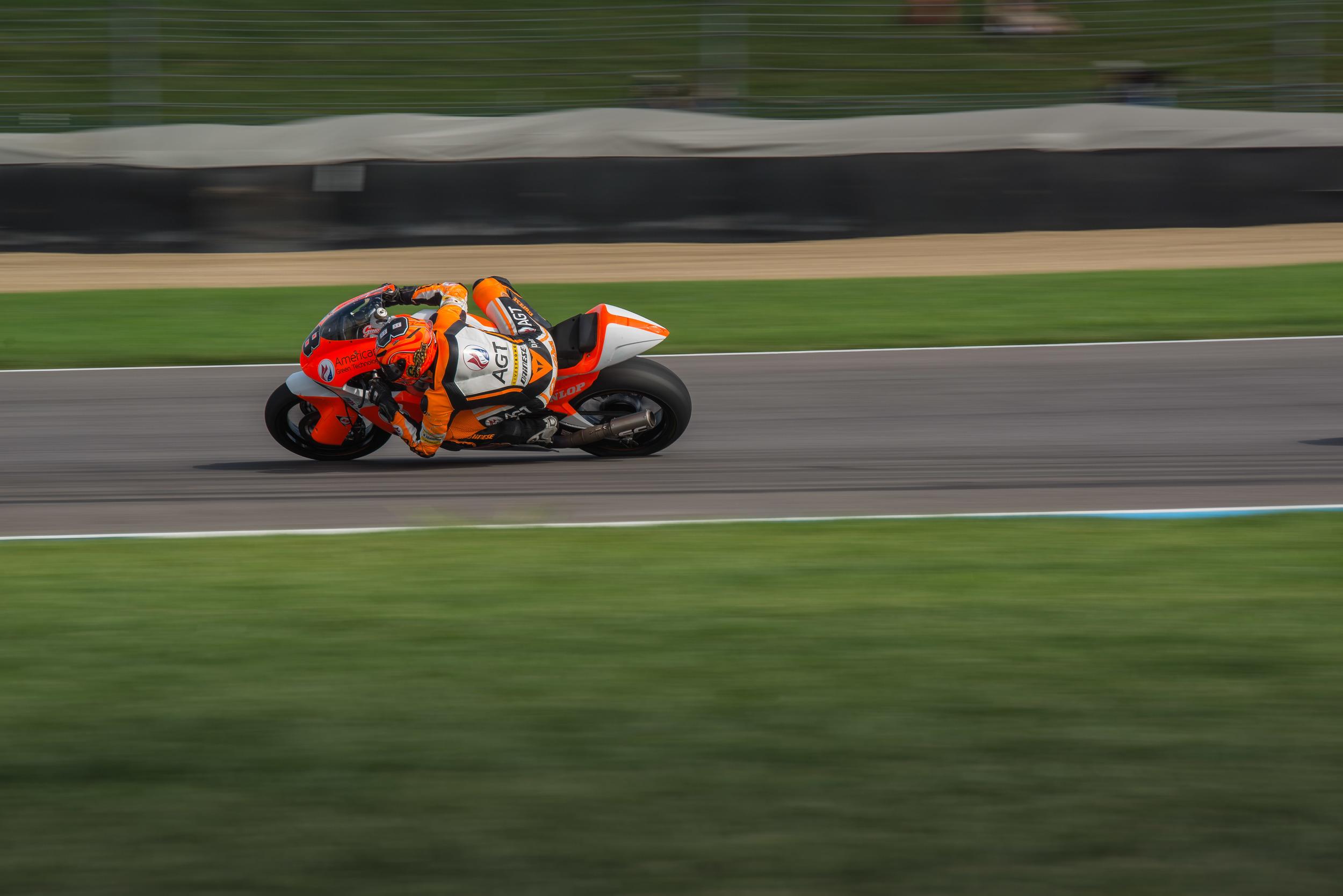 Gino Rea in Moto2