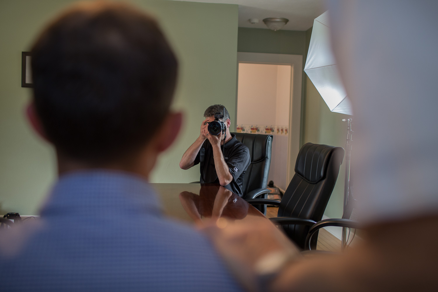 Commercial Photography Behind The Scenes at A&D in Indianapolis - Group Shots