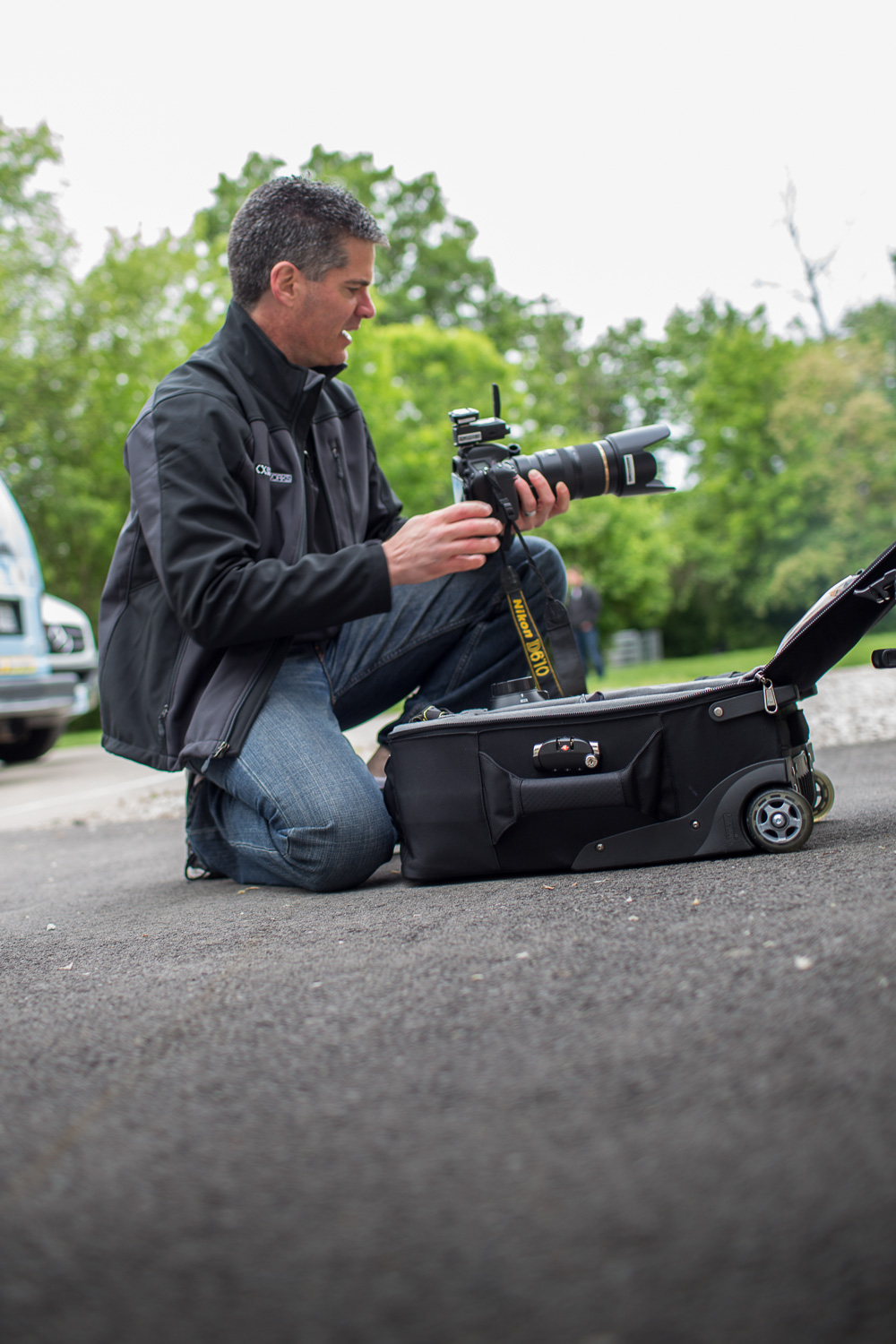 Commercial Photography Behind The Scenes at A&D in Indianapolis - Changing Lenses