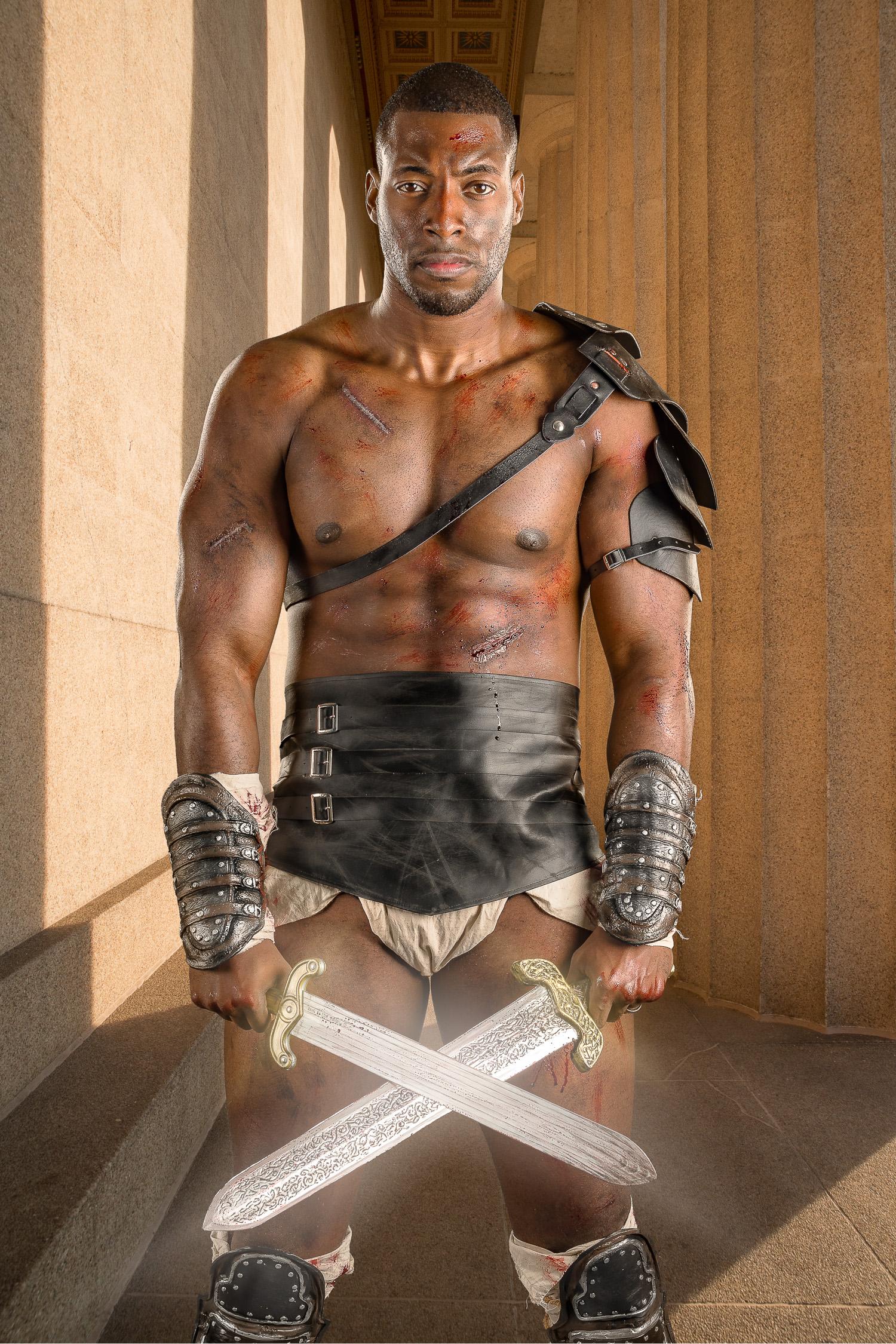Spartacus #3 (background is Parthenon in Nashville, TN)