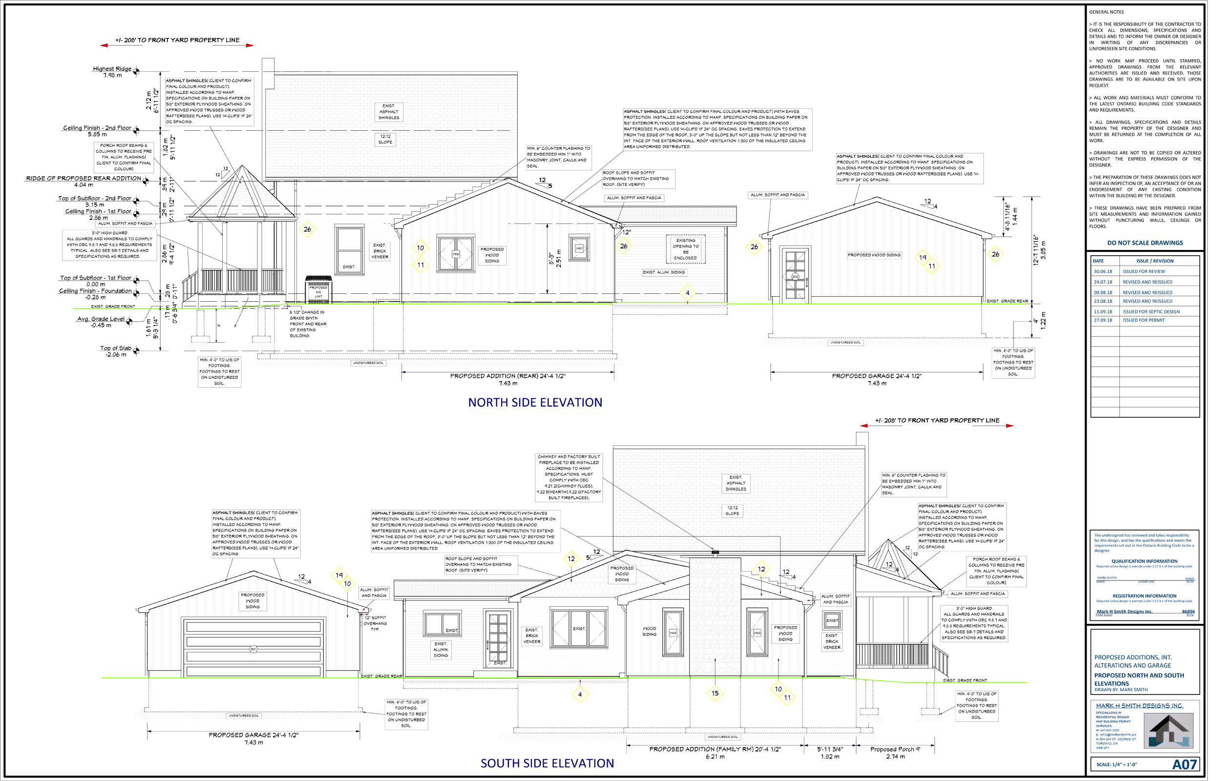 Building permit- Additions and Interior alterations
