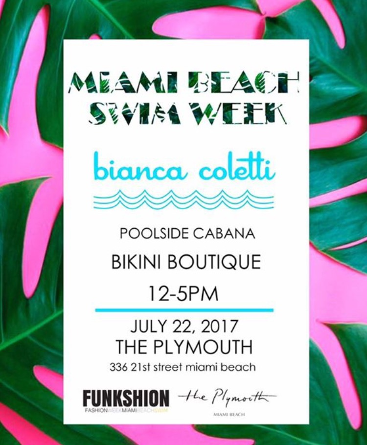 Bianca Coletti is BOSS when it comes to haute swim suits. Cool chick too!