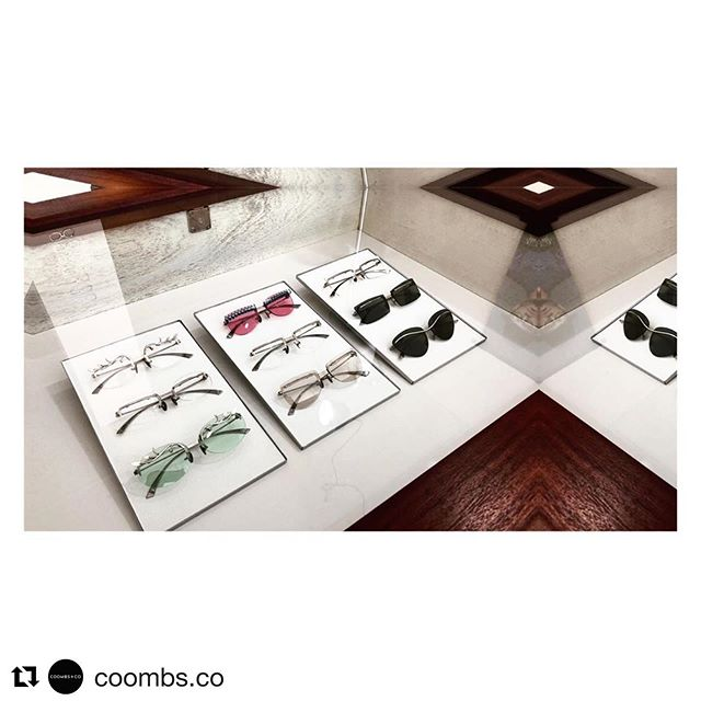 #Repost @coombs.co ・・・ Peter Coombs Soirée  Full Collection only @coombs.co. Handcrafted Titanium + Sterling Silver by Master Jeweller. Custom style, size, adornments available only @coombs.co. •• #coombsco #eyeweardesign #handcraftedjewelry #handmadeeyewear #jewelleryfortheface #customeyewear #petercoombseyewear #soiree #eyewearcollection #occhiali #lunettes #adelaidecreatives #adelaidedesigner #rundlestreet