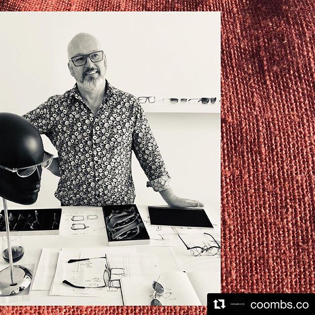 #Repost @coombs.co ・・・ Designing, making and chatting - Peter's favorite things. You can find him in the Atelier most days doing just that. Book an appointment on 0419 031 440 or drop by for frame selection and/or fitting. •• #adelaidecreatives #coombsco #rundlestreet #rundlestreeteast #adelaidedesigner #glasses #customeyewear #customglasses #designermaker #studiolife #masterjeweler #masterjeweller #spectacles #eyewearcollector #adelaideloves #adelaideartist #petercoombseyewear #luxuryeyewear #handmade #handcrafted