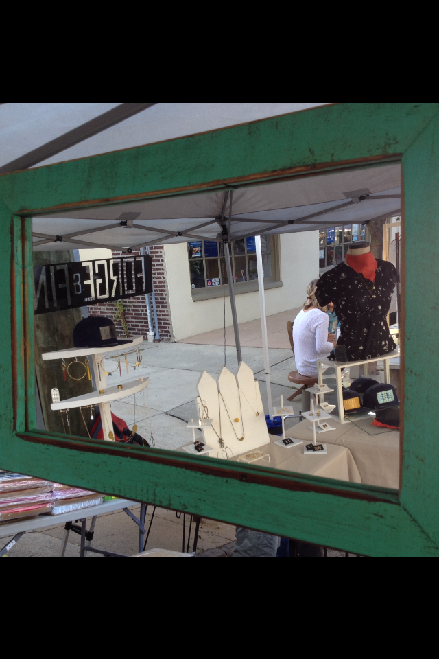 brand new mirror from our fellow vendor reclaimed crafts . thanks cassandra!