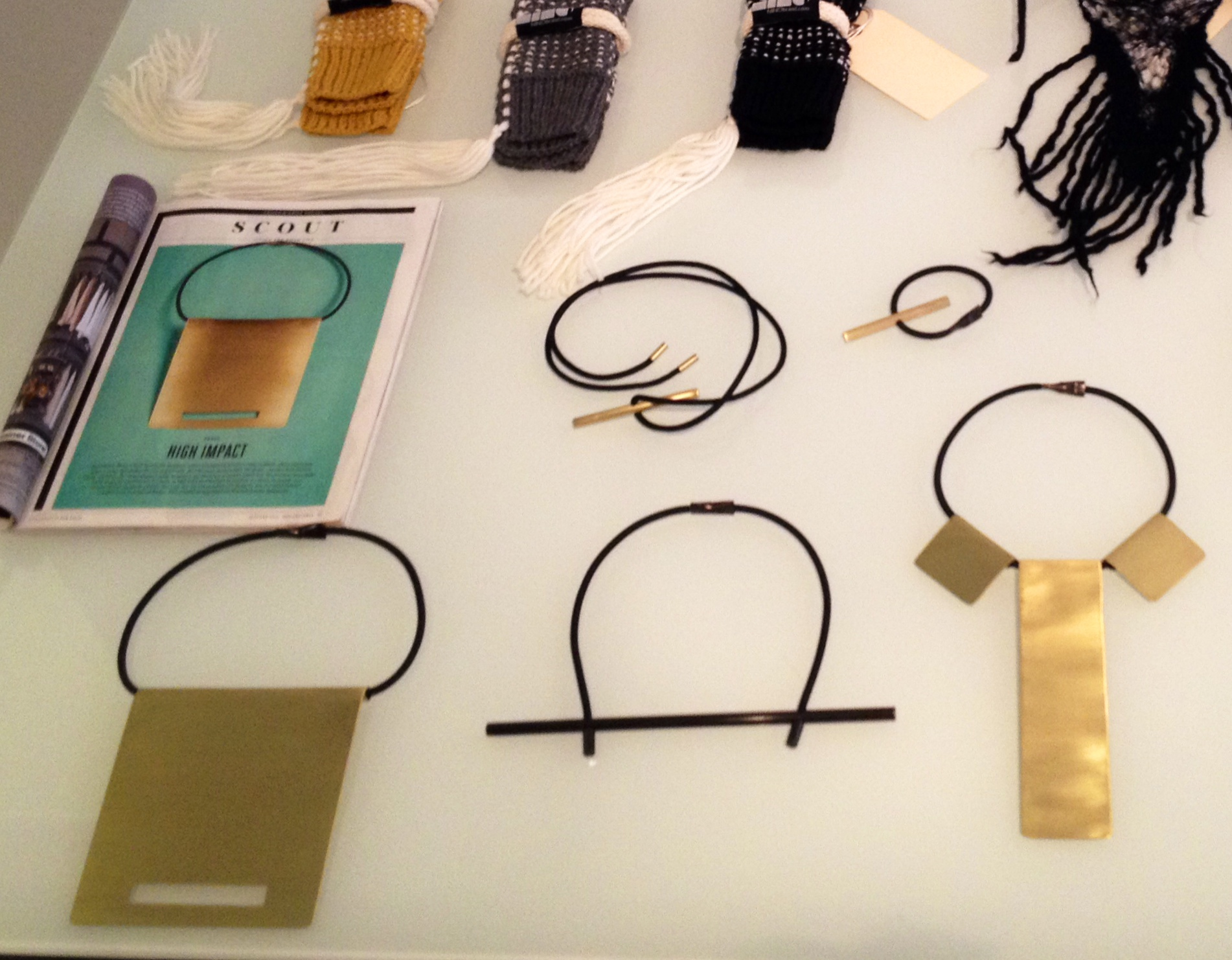 Hubba hubba-NINObrand's latest jewelry line.