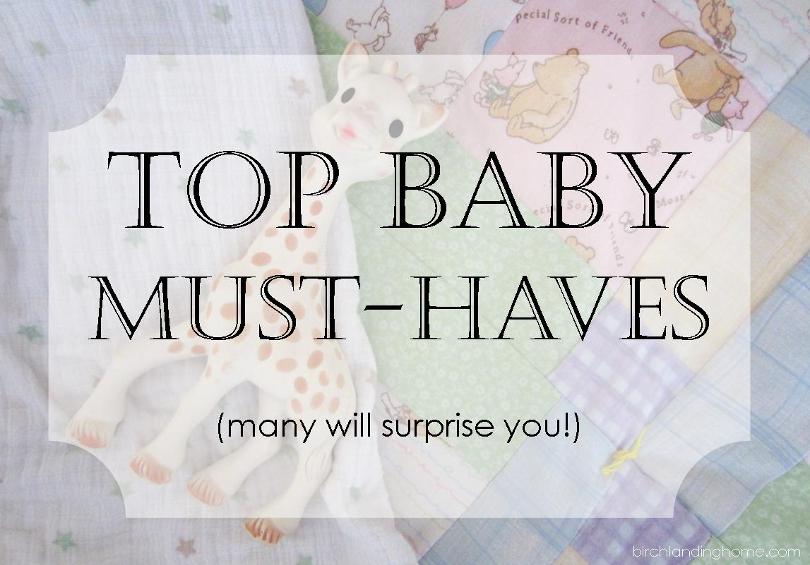 Top Baby Registry Must-Haves you don't think of