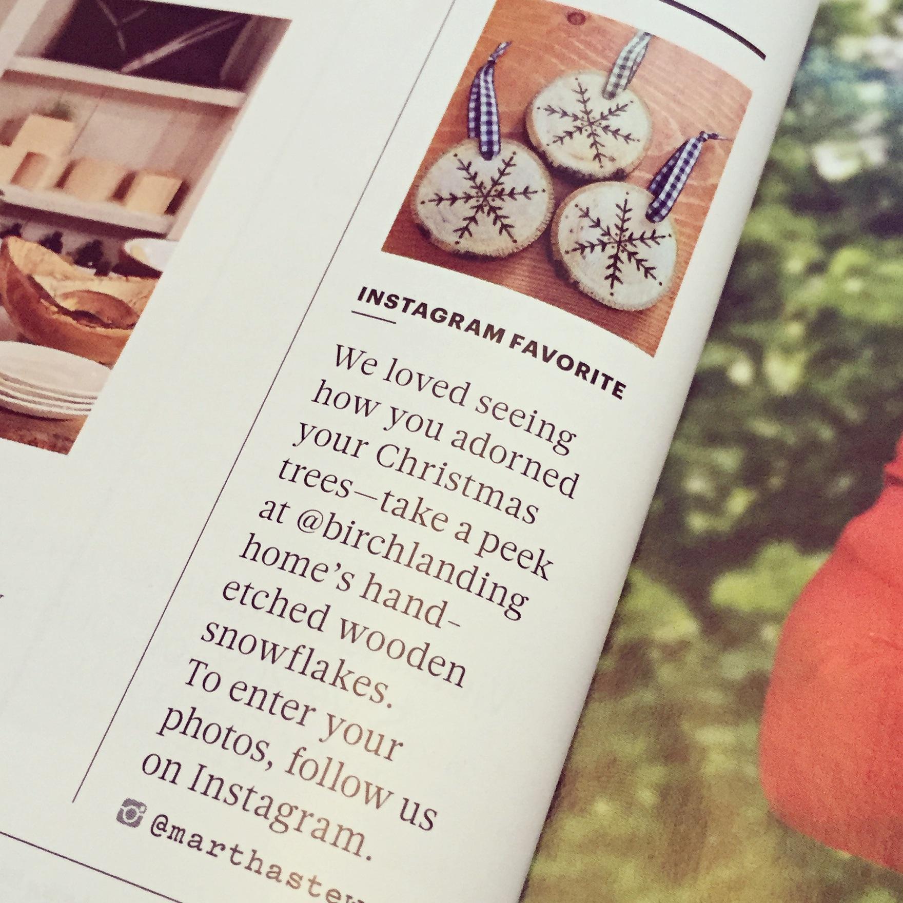 Birch Landing Home as seen in Martha Stewart Living Magazine