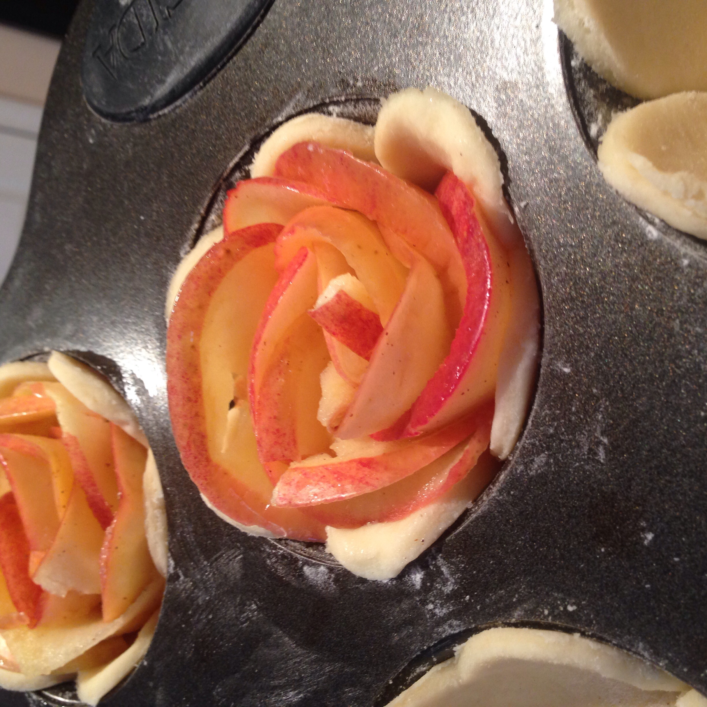 Apple Rose Tarts for Valentine's Day (Tips and Tricks), Inspired by Martha Stewart