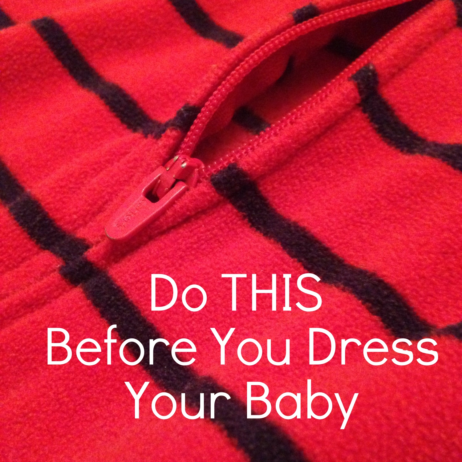 Always do THIS Before you Dress your Baby
