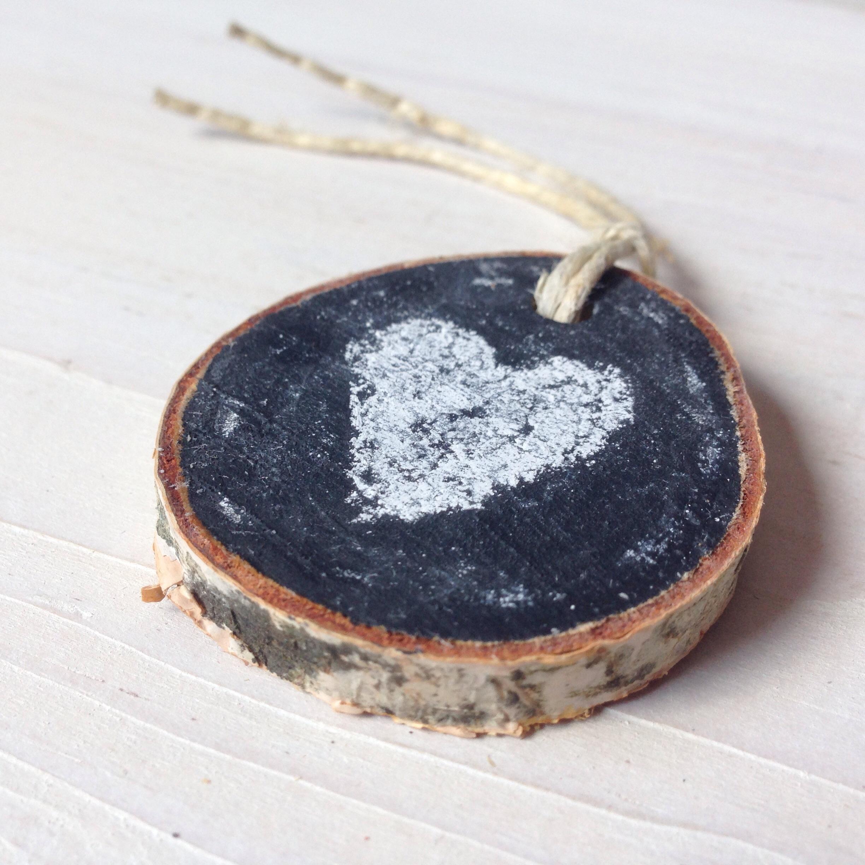 Rustic Birch Chalkboard Gift Tags by Birch Landing Home