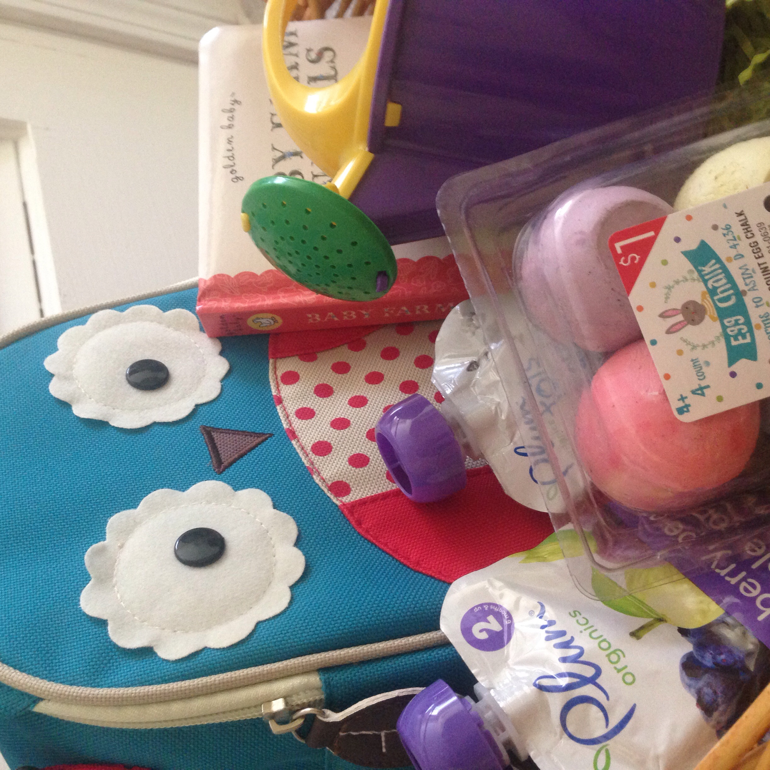 Cheap ideas for a cute toddler Easter Basket