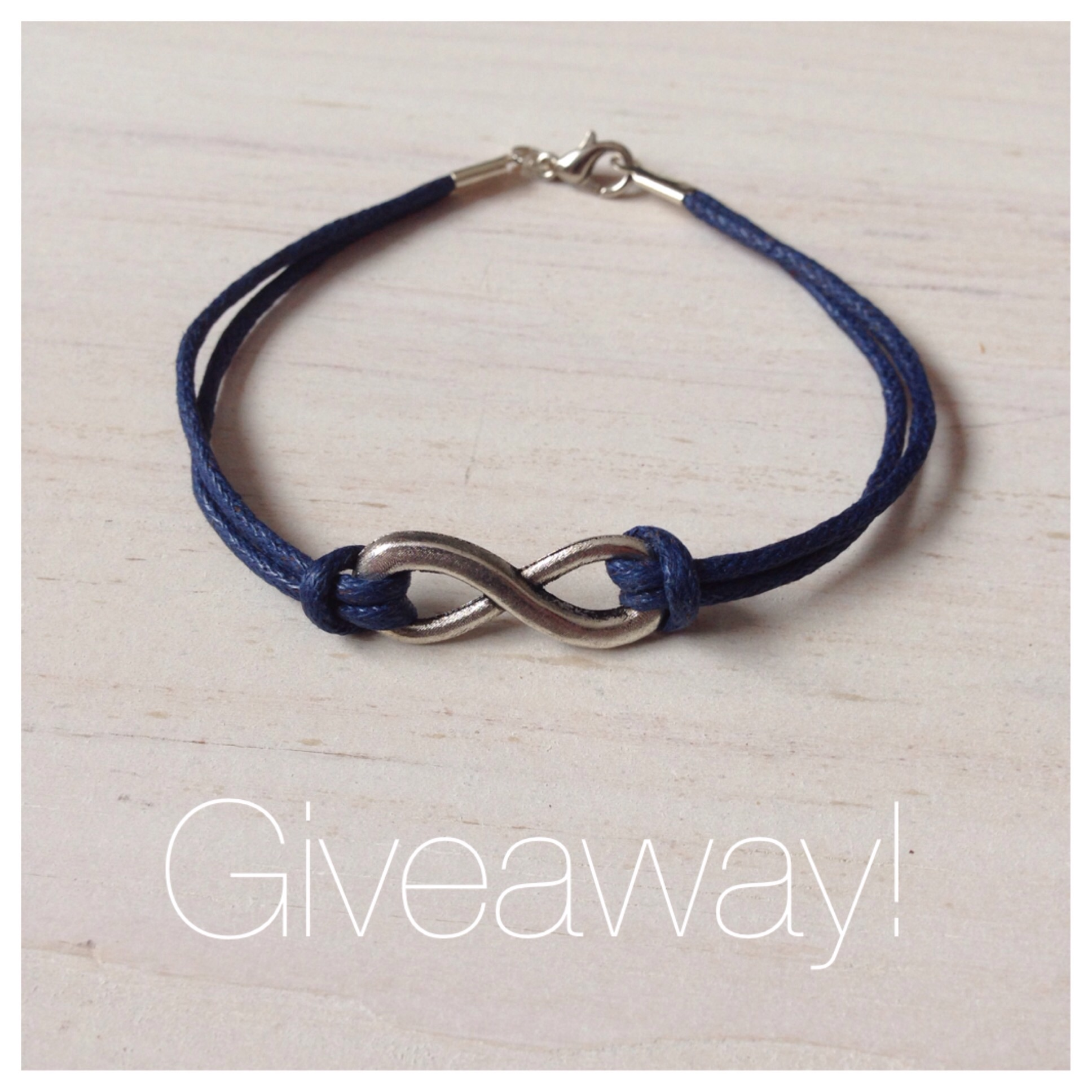 Infinity Bracelet Giveaway from Birch Landing Home on Instagram