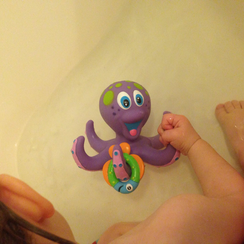 Nuby's Octopus Floating Bath Toy