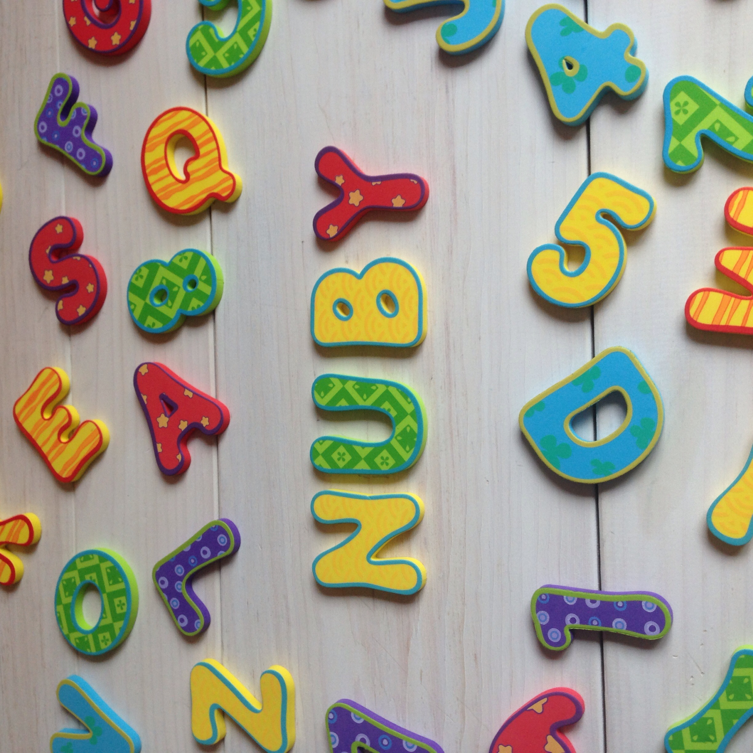 Nuby Bath Letters and Numbers review and a giveaway