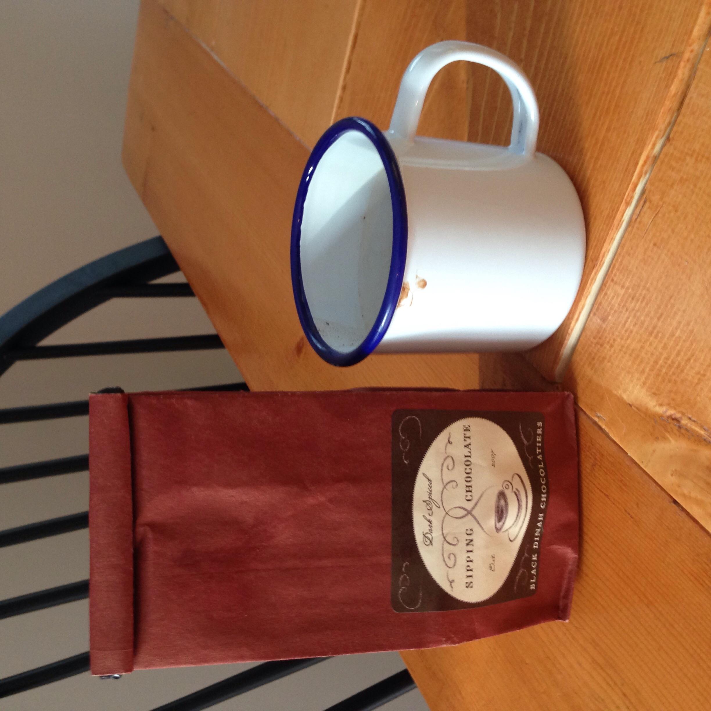 Amazing Maine-made hot chocolate!