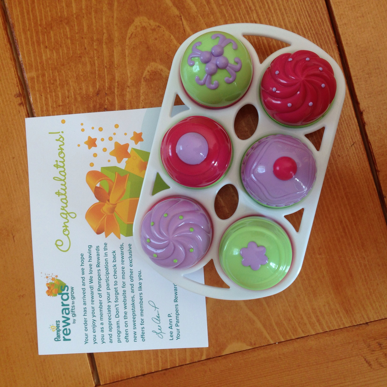 Pampers Rewards free gift - Step 2 Little Bakers Cupcake Set