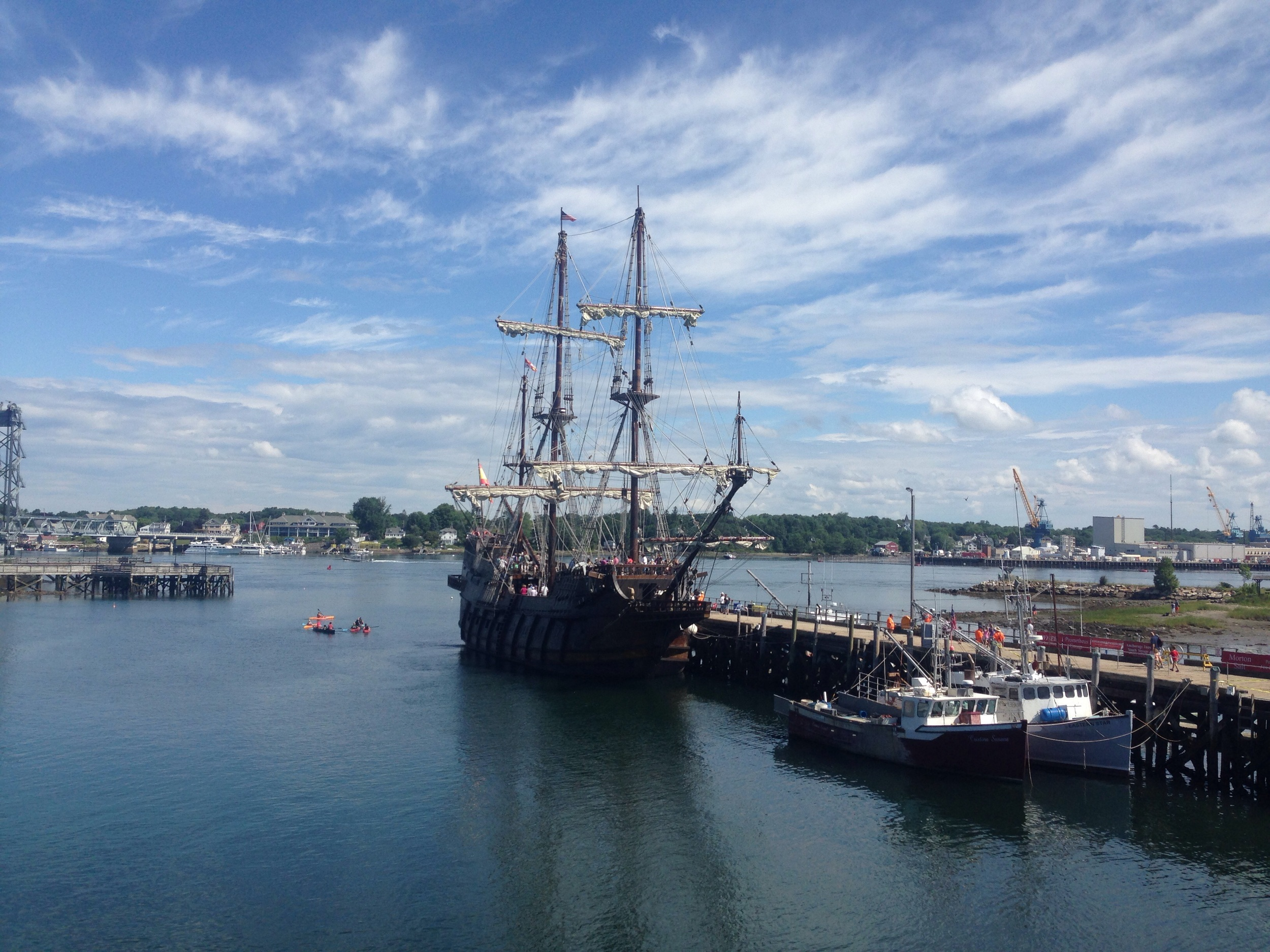 Seeing the Tall Ships in Portsmouth, NH