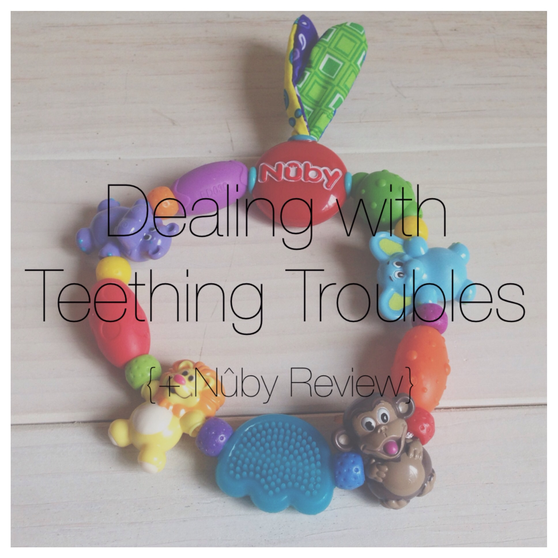 Teething tips for babies and toddlers
